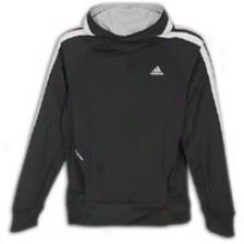 Adidas Response Icon Hoodie - Mens - Black/light Onix
