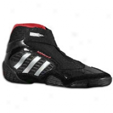 Adidas Response Wrestling Ii - Mens - Black/silver/red