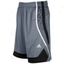 "Adidas Rock Hawk 12"" Short - Mens - Black/white/lead"
