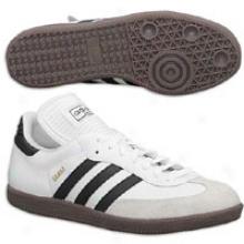 Adidas Samba Classic - Big Kids - White/black