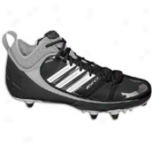 Adidas Scorch 9 D Mid - Mens - Black/wite/silver