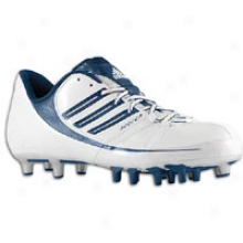 Adidas Scorch 9 Superfly Low - Mens - Wihte/collegiate Navy/silver