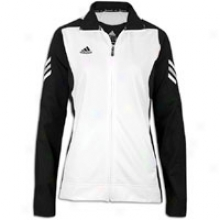 Adidas Scorch Full Zip Jacket - Womens - Black/whits