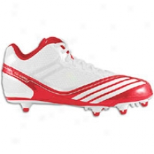 Adidas Scorch Thrill Mid D - Mens - University Red/white/white