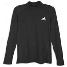 Adidas Sequentials 1/2 Zip - Mens - Black