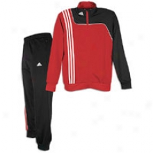 Adidas Sereno Bestowal Suit - Mens - University Red/blac