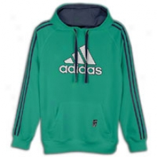 Adidas Slope Hoodie - Mens - Twilight Green/dark Navy/white