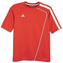 Adidas Sossto Jersey - Big Kids - University Red/white