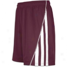 Adidas Sossto Short - Mens - Light Maroon/white