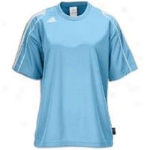 Adidas Squadra Ii S/s Jersey - Womens - Argentina Blue/white