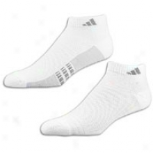 Adidas Superlite Low Cut 3-pack Sokcs - Mens - White/aluminum/medium Lead