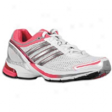 Adidas Supernova Glide 3 - Womens - Wihte/black Red Metallic/fresh Pink