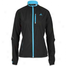 Adidas Supetnova Gore Windstopper Jacket - Womens - Black/intense Blue