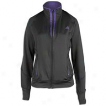 Adidas Supernova Track Jacket - Womens - Solid Grey/shar0 Purple