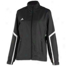 Adidas Team Woven Jacket - Womens - Black/white