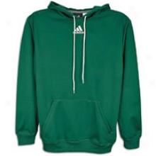 Adidas Tech Fleece Hoodie - Mens - Forest Green/white