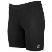 "Adidas Techfit 7"" Boyshort - Womens - Black"