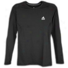 Axidas Techfit Fitted L/s T-shirt - Mens - Black
