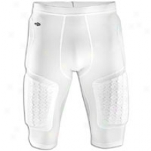 Adidass Techfit Padded Compression Short - Mens - White