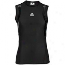Adidas Techfit Powerweb S/l Top - Mens - Black/light Onyx