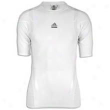 Adidas Techfi5 Powerweb S/s Top - Mens - White/light Onyx