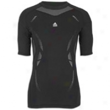 Adidas Techfit Preparation S/s T-shirt - Mens - Black