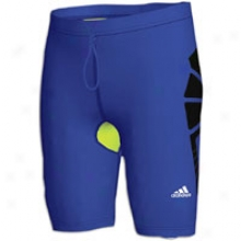 Adidas Techfit Recovery Shrot Tight - Mens - Collegiate Royal
