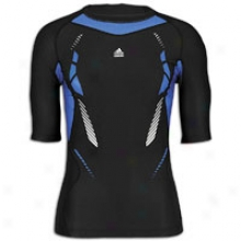 Adidas Tcehfit Recovery S/s Top - Mens - Black