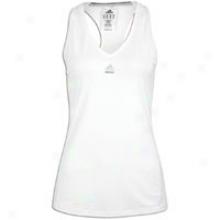 Adidas Techfit Tank - Womens - White/matte Silver