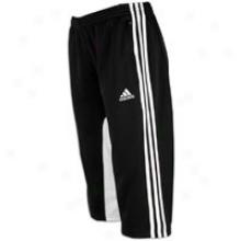 Adidas Tiro Ii 3/4 Pant - Womens - Black/white
