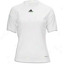 Adidas Tiro S/s Jersey - Womens - White/white