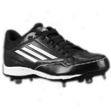 Adidas Titan Metal Low - Mens - Black/white/metallic Silver