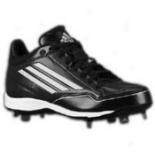 Adidas Titan Metal Mid - Mens - Black/wuite/metallic Silver