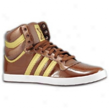 Adidas Top 10 Mid - Mens - Strong Brown/metallic Gold/metallic Gold