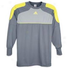 Adidas Traversa L/s Goalkeeping Jersey - Mens - Lead/silvsr