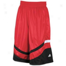 Adidas Uptown Flow Short - Mens - University Red/black/white