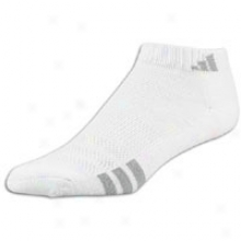 Adidas Variegrated 3 Pack Low Sock - Womens - White/aluminum