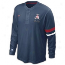 Arizona Nike College Elite On-court Shooting Shidt - Mens - Navy