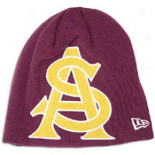 Arizona State New Era College Big One Knit - Mens - Dark Maroon