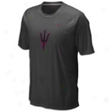 Arizona State Nike College Dri-fit Speed Fly S/s T-shirt - Mens - Black