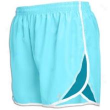 """Asics 3"""" Split Short - Womens - Aqua/zircon"""