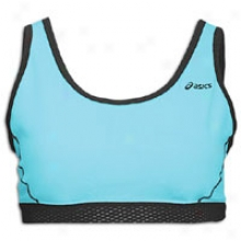 Asics Abby Basic Bra - Womens - Aqua/black