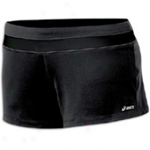 Asics Abby Loose Fit Short - Womens - Black/black