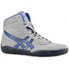 Asics Aggressor - Mens - Grey/royal Blue