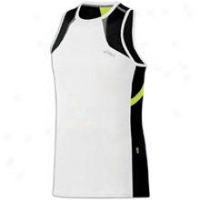 Asics Ard Singlet - Mens - White/black/wow