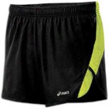 Axics Ard Split Short - Mens - Black/wow