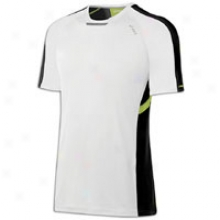 Asics Ard S/s T-shirt - Mens - White/black/wow