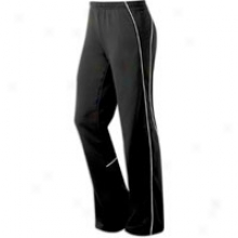 Asics Competition Pant - Womens - Black/white
