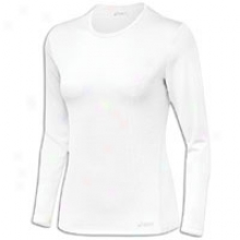Asics Core L/s T-shirt - Womens - White
