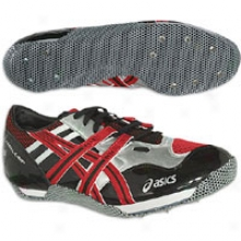 Asics Cyber High Jump Beijing - Mens - Fire Red/black/lightning